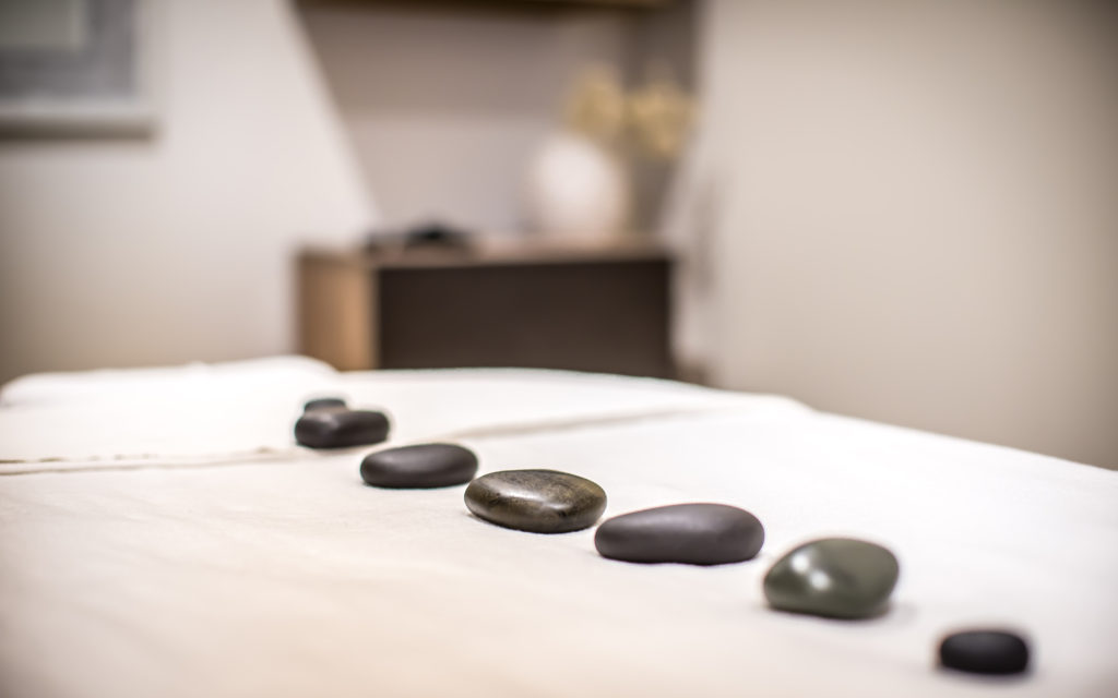 modern massage room