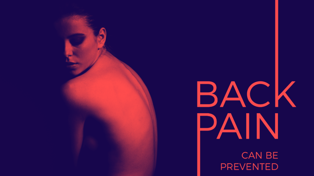 Back pain is preventable