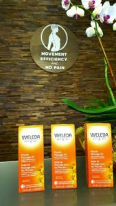 Massage for arthritis with Weleda Arnica oil